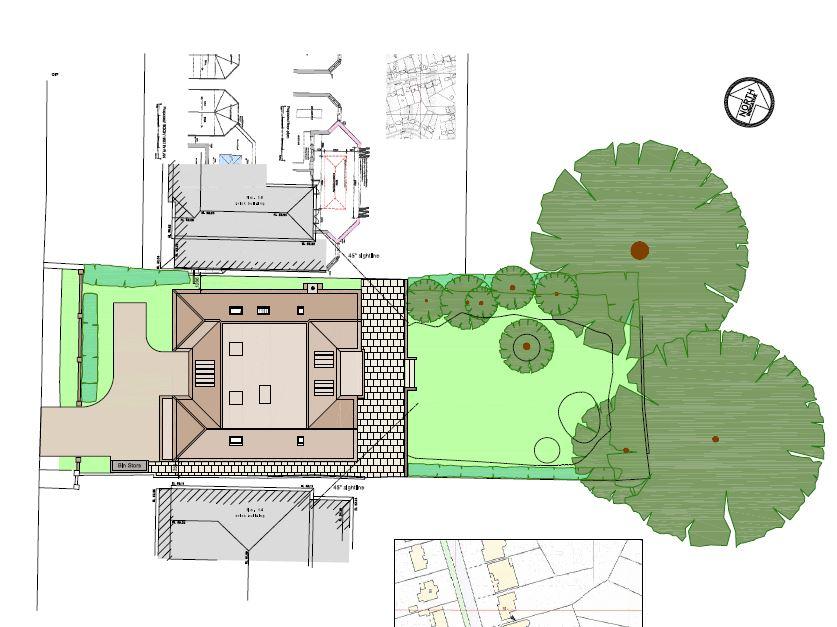2 Barham Avenue Elstree plan