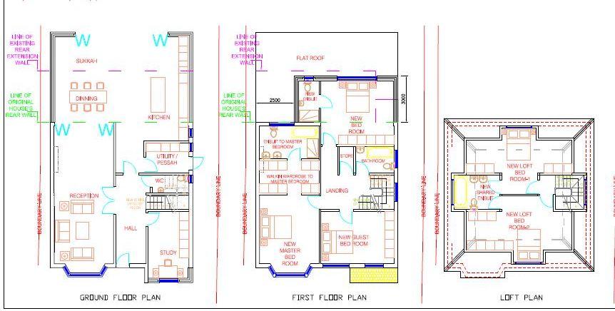 314 Prothero Gardens Hendon plans